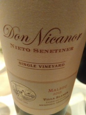 Nieto Don Nicanor Single Vineyard Malbec 2013