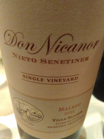 Nieto Don Nicanor Single Vineyard Malbec 2013