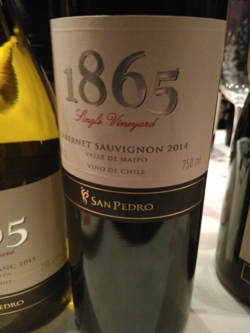 San Pedro 1865 Single Vineyard Cabernet sauvignon 2014