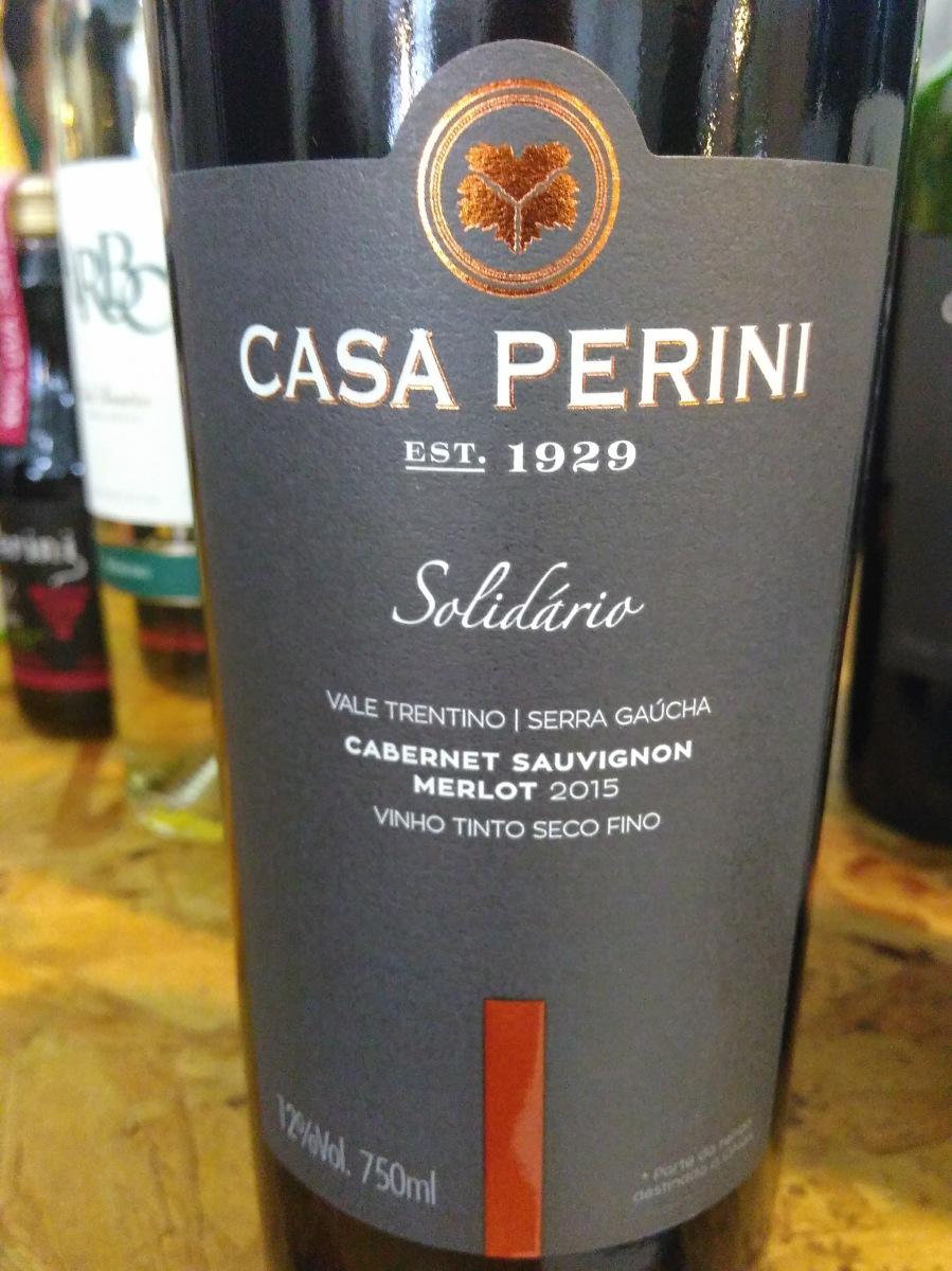 Conheça o vinho Solidário: projeto social da Casa Perini