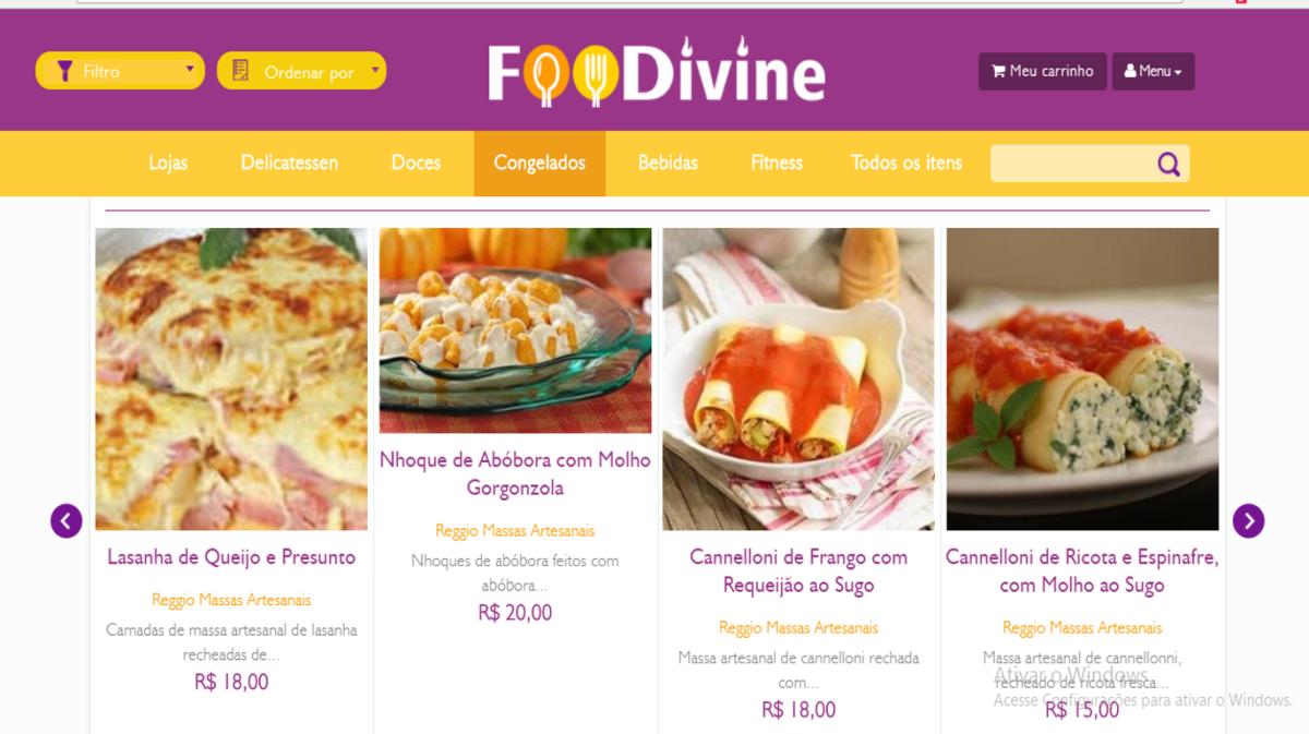 Conhece o FooDivine? O aplicativo carioca de comidinhas artesanais e...vinhos!