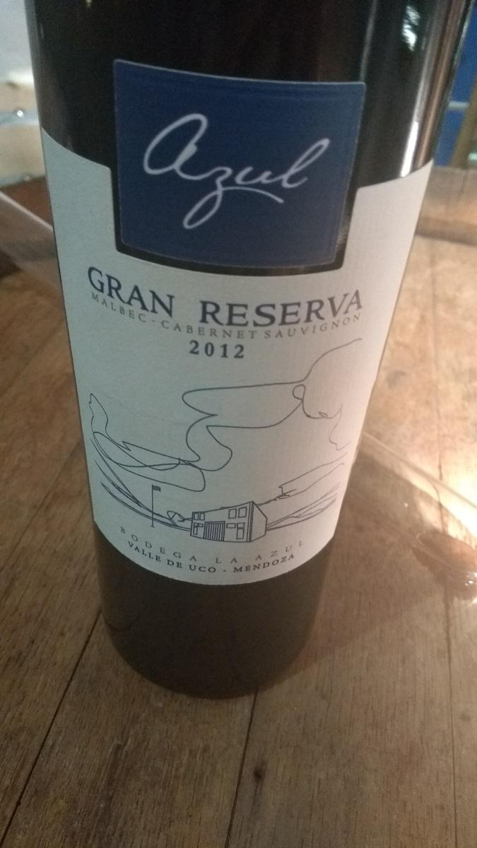 La Azul Gran Reserva 2012: vinho DiVino que vale o post