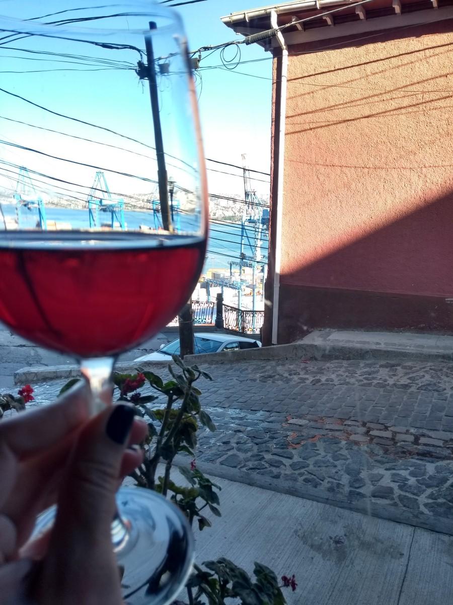 (Chile) Vinhos de Garagem em Valparaíso