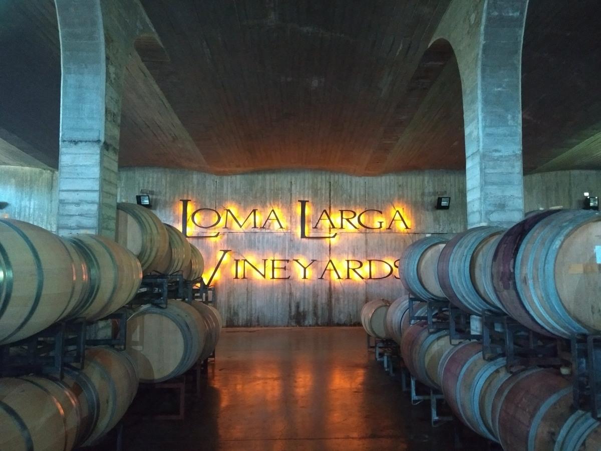 (Chile) Loma Larga e o tour por seus tintos de clima frio